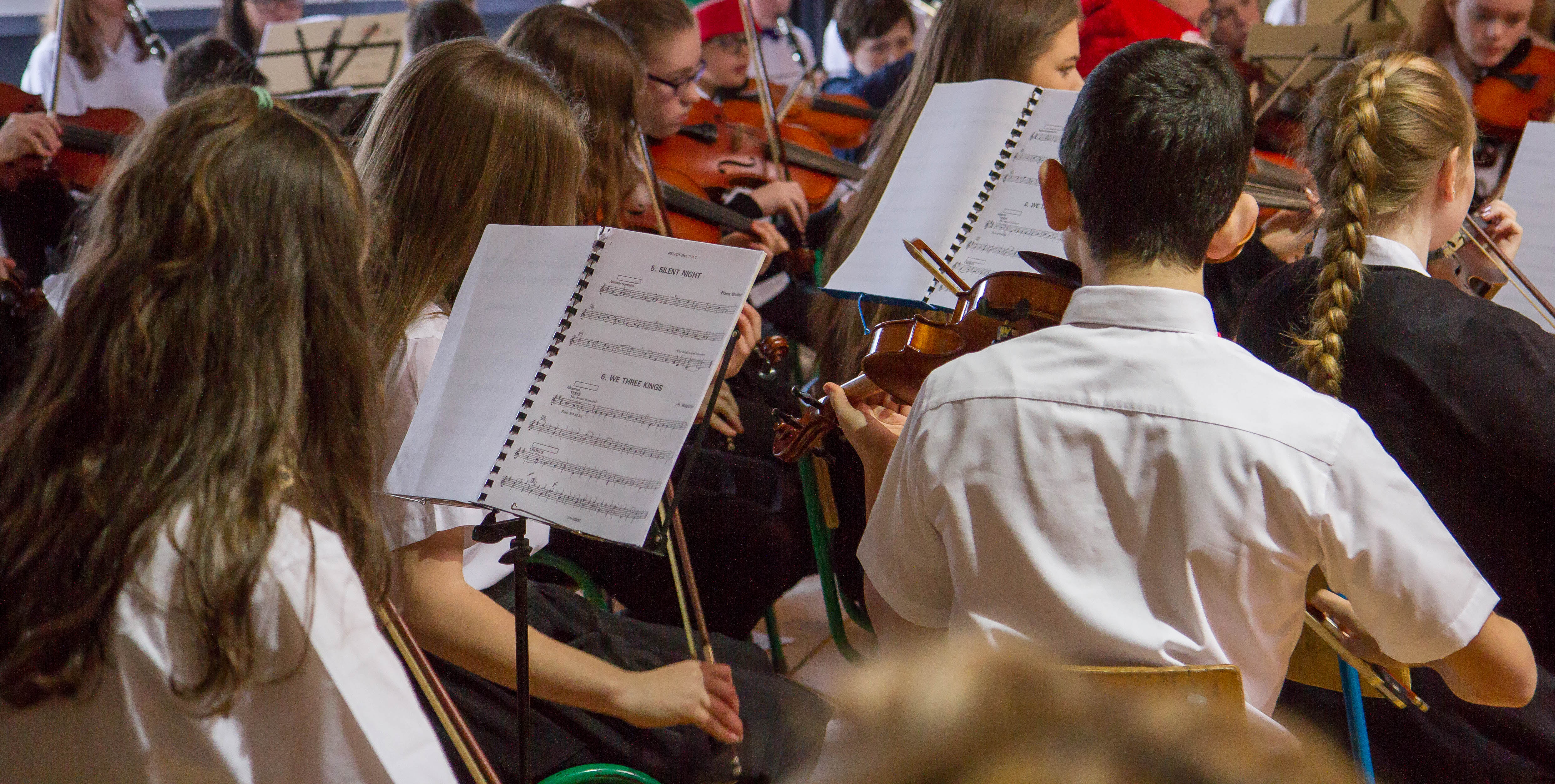 New Junior Orchestra Music  Posted