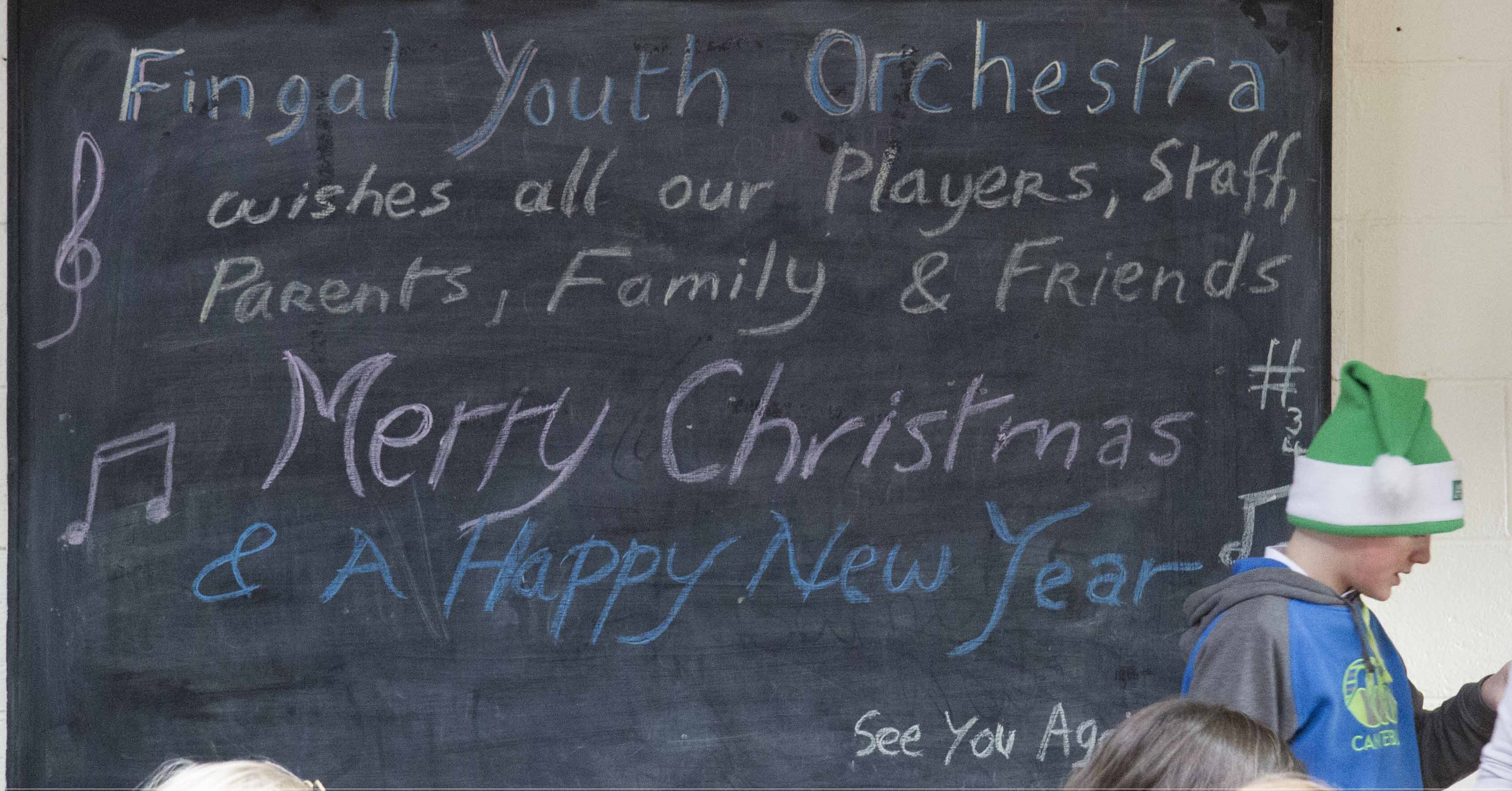 Happy Christmas from Fingal Youth Orchestra